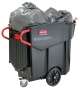 Mobile waste collector - 120 gal.