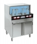 Chemical sanitizing glasswasher