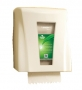 TANDEM MECHANICAL NO-TOUCH TOWEL DISPENSER WHITE