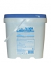 Chlorinated powder detergent