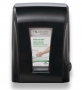 Tandem mechanical no-touch towel dispenser
