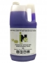 Scrub-free cleaner for soap scum and scale residues